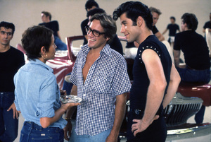 """Grease""Choreographer Patricia Birch, director Randal Kleiser, John Travolta © 1978 Paramount Pictures** I.V. - Image 6457_0053"