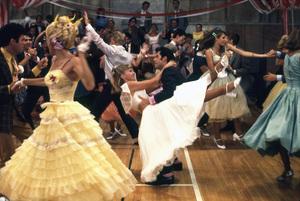 """Grease""John Travolta, Olivia Newton-John © 1978 Paramount Pictures** I.V. - Image 6457_0064"