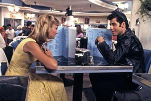 """Grease""Olivia Newton-John, John Travolta © 1978 Paramount Pictures** I.V. - Image 6457_0069"