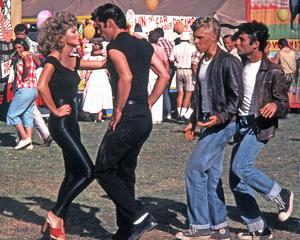 """Grease""Olivia Newton-John, John Travolta © 1978 Paramount Pictures** I.V. - Image 6457_0076"