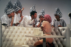 """""""Grease""""Frankie Avalon, Didi Conn, Stockard Channing © 1978 Paramount Pictures** I.V. - Image 6457_0084"""