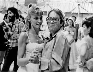 """Grease""Allan Carr, Olivia Newton-John © 1978 Paramount Pictures** I.V. - Image 6457_0086"