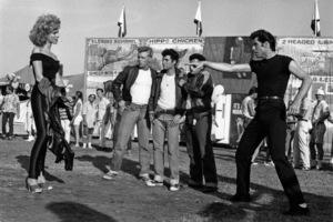 """Grease""Olivia Newton-John, John Travolta © 1978 Paramount Pictures** I.V. - Image 6457_0088"