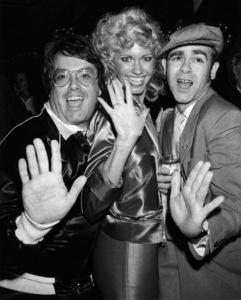 """Grease"" (Premiere)Allan Carr, Olivia Newton-John, Elton John © 1978 Paramount Pictures** I.V. - Image 6457_0089"