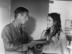 """""""The Getaway""""Steve McQueen and Ali MacGraw1972 Solar/1st Artists - Image 6473_0001"""