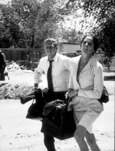 """Getaway, The""Steve McQueen, Ali MacGraw1972 Solar / Fine Art © 1978 Mel TraxelMPTV - Image 6473_0042"