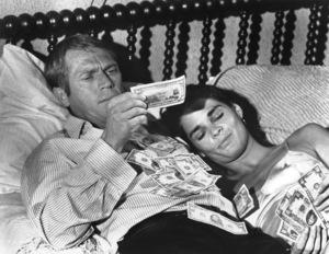 """The Getaway""Steve McQueen, Ali Macgraw1972 Warner Bros.**I.V. - Image 6473_0068"
