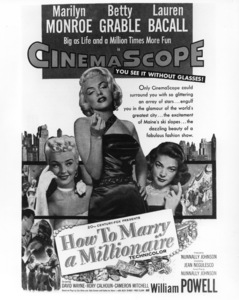 """How To Marry A Millionaire""Lobby Card1953 / 20th Century Fox**R.C. - Image 6497_0018"