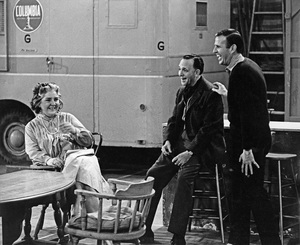 """Bye Bye Birdie""Maureen Stapleton, director George Sidney, Paul Lynde1963 Columbia PicturesPhoto by Mel Traxel - Image 6547_0014"