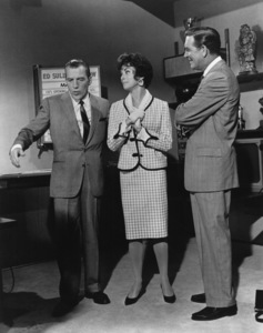 """""""Bye Bye Birdie""""Ed Sullivan, Janet Leigh, Robert Paige1963 Columbia PicturesPhoto by Mel Traxel - Image 6547_0052"""
