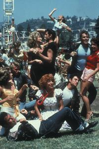 """Grease""John Travolta, Olivia Newton-John, Jeff Conway, Stockard Channing, Didi Conn, Michael Tucci, Barry Pearl, Kelly Ward, Dinah Manoff © 1978 Paramount - Image 6557_0022"