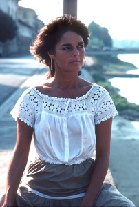 Ali MacGraw on location in Europe duringfilm production1981/**H.L. - Image 6628_0118