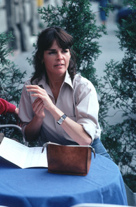 Ali MacGraw on location in Europe duringfilm production1981/**H.L. - Image 6628_0127
