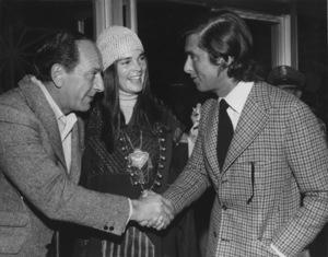 Jack Klugman, Ali MacGraw and Robert Evans circa 1972 - Image 6628_0183