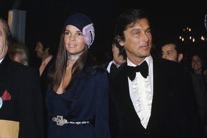 """Ali MacGraw and Robert Evans at """"The 43rd Annual Academy Awards""""1971 © 1978 Gary Lewis - Image 6628_0202"""