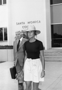 Ali MacGraw at the Santa Monica Court building during her divorce from Robert Evanscirca 1973© 1978 Gary Lewis - Image 6628_0218