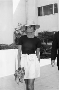 Ali MacGraw at the Santa Monica Court building during her divorce from Robert Evanscirca 1973© 1978 Gary Lewis - Image 6628_0219