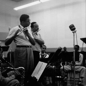 A Lionel Hampton recording session, circa 1950. © 1978 Bob Willoughby / MPTV - Image 6637_102
