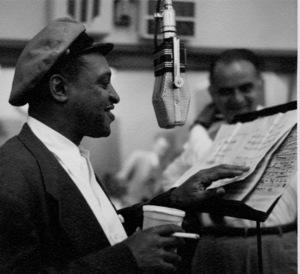 Lionel Hampton at a recording session, circa 1950. © 1978 Bob Willoughby / MPTV - Image 6637_103