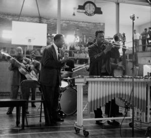 Lionel Hampton at Hollywood High School, circa 1950. © 1978 Bob Willoughby / MPTV - Image 6637_111