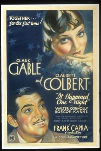 """It Happened One Night""Poster1934 Columbia**I.V. - Image 6663_0006"