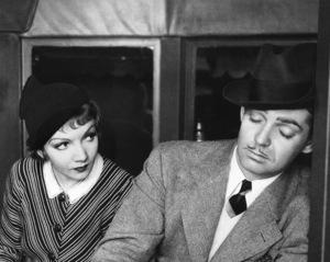 """It Happened One Night""Claudette Colbert & Clark Gable 1934 Columbia **I.V. - Image 6663_0009"