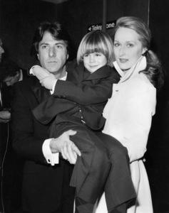 "Dustin Hoffman, Justin Henry and Meryl Streep attending the Royal Command Performance of ""Kramer vs. Kramer"" March 17, 1980** B.D.M. - Image 6696_0033"