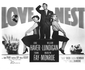 """Love Nest"" Poster1951 / 20th Century Fox**R.C. - Image 6730_0001"