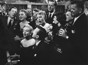 """Love Nest""Frank Fay, Marilyn Monroe,June Haver and Jack Paar1951 / 20th Century Fox**R.C. - Image 6730_0010"