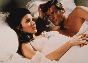 """""""Live and Let Die,""""Jane Seymour, Roger Moore © 1973 MGM / MPTV - Image 6773_0100"""