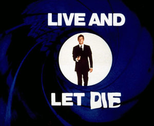 """""""Live and Let Die,""""Title Card1973 MGM / MPTv - Image 6773_0104"""