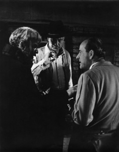 """""""Man of the West""""Lee J. Cobb, Gary Cooper, director Anthony Mann1958Photo by Floyd McCarty - Image 6826_0029"""