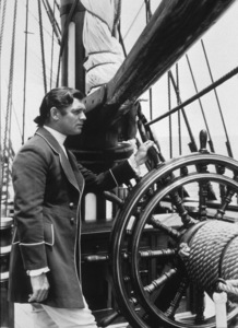 """Mutiny On The Bounty,"" Clark Gable.1935 MGM - Image 6852_0114"