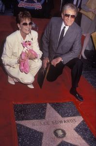 Blake Edwards and Julie Andrews at Hollywood Walk of Fame Ceremony04-03-1991**I.V. - Image 7068_0018