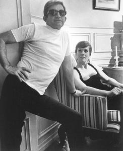 "Blake Edwards and Julie Andrewsin ""Darling Lili"" © 1968 Paramount**I.V. - Image 7068_0024"