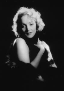 """Marlene Dietrich, portrait for """"Morocco,"""" 1930. © 1978 Eugene RicheeMPTV - Image 709_1045"""