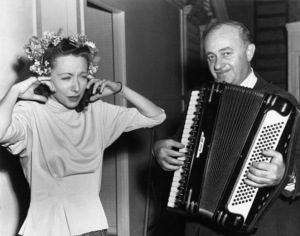Ben Hecht and Viola Essen1945 - Image 7109_0005
