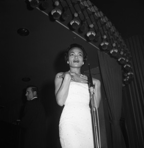 Eartha Kitt at the Mocambo1955© 1978 David Sutton - Image 7143_0032