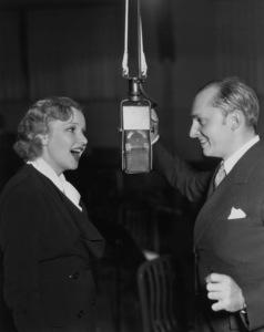 Dixie Lee Crosby and Ben Bernie1934 - Image 7156_0002