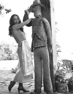 Leslie Caron at home1971 © 1978 Larry Kastendiek - Image 715_0032