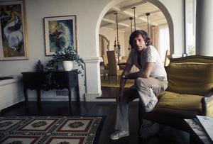 Roman Polanskiat his home on Sunset Plaza Drivein Los Angeles, CAcirca 1972 © 1978 Bruce McBroom - Image 7200_0009