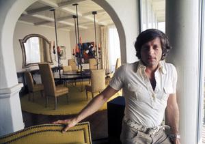 Roman Polanskiat his home on Sunset Plaza Drivein Los Angeles, CAcirca 1972 © 1978 Bruce McBroom - Image 7200_0010