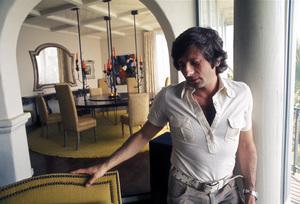 Roman Polanskiat his home on Sunset Plaza Drivein Los Angeles, CAcirca 1972 © 1978 Bruce McBroom - Image 7200_0011