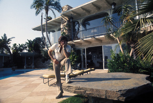 Roman Polanskiat his home on Sunset Plaza Drivein Los Angeles, CAcirca 1972 © 1978 Bruce McBroom - Image 7200_0015