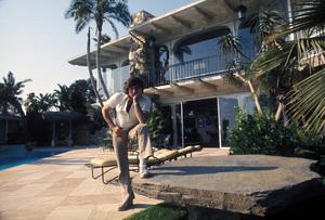 Roman Polanskiat his home on Sunset Plaza Drivein Los Angeles, CAcirca 1972 © 1978 Bruce McBroom - Image 7200_0015