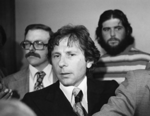 Roman Polanski leaving a courthouse in L.A.1977 © 1978 Gunther - Image 7200_0027