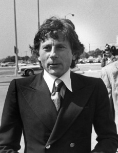Roman Polanski leaving a courthouse in L.A.1977 © 1978 Gunther - Image 7200_0028