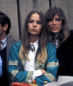 """Michelle Phillips and Jill Gibson at """"The Monterey Pop Festival""""1967 © 1978 Gunther - Image 7201_0003"""