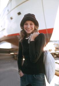 Deborah RaffinPendleton Clothing ADFebuary 1974 © 1978 Sid Avery - Image 7236_0080