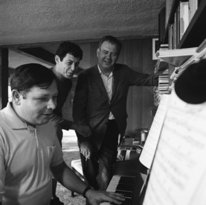 Eddie Fisher with Nelson Riddle1966© 1978 Ken Whitmore - Image 7289_0039